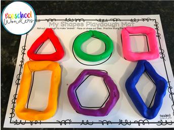 Playdough Shapes