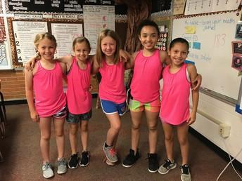 Girls' relay team