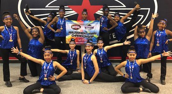 Miller Intermediate School students took top honors at the Six Flags Fiesta Texas American Cheer Power and Dance Championship.