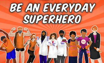 We Are All Superheros, And Can Do Great Things
