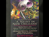 """Laissez les bons temps rouler!"" at this year's Dinner Auction March 11th!"