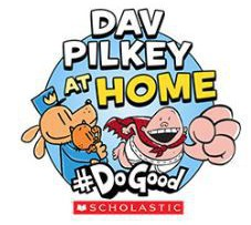 dav pilkey at home #dogood Author of Captain Underpants & Dog Man