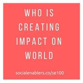 SE 100 Inspiring Social Innovators 2017