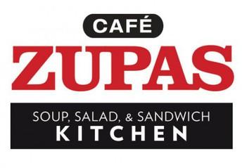 Cafe Zupas Restaurant Sign