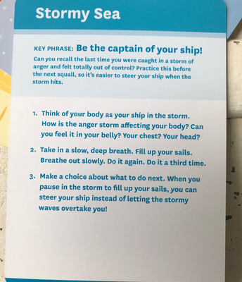 Stormy Sea Instructions