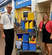Thank you to Walmart for their Donation!