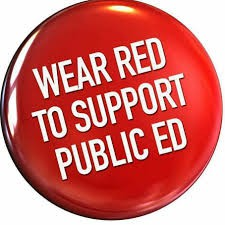 If you would like to ride a bus to the State House to support our teachers, please click on the link below and complete the form!
