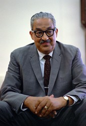 f) Thurgood Marshall