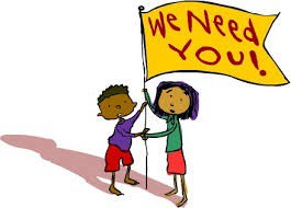 LUNCH DUTY VOLUNTEERS NEEDED -11:30-12:30