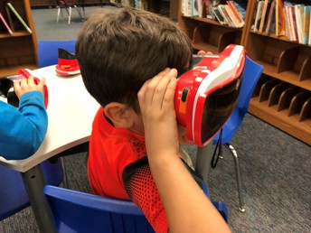 Using VR Goggles
