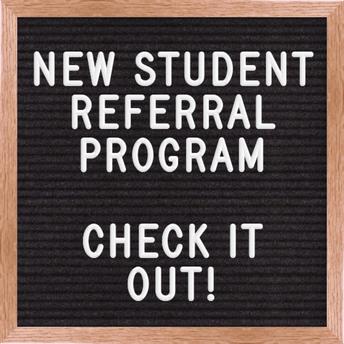 New Student Referral Program