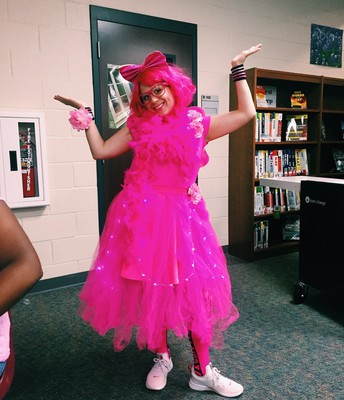PINK OUT WINNER MRS SPINA!!!