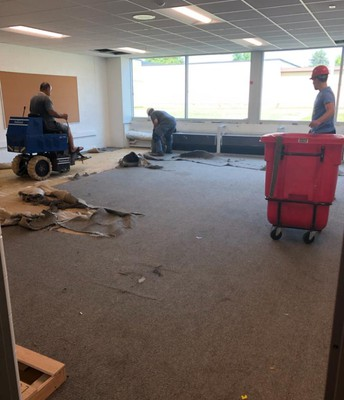 Replacing Carpet at Madison-Marietta-Nassau
