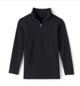 Half-zip fleece