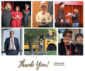 Thank You, Duluth Principals