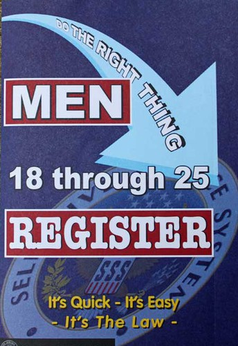 Register with the Selective Service System