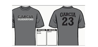 Order your 8th grade T-shirt