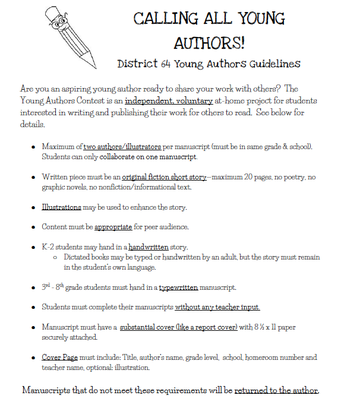 Calling All Authors!