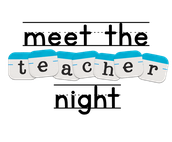 2nd Annual Meet the Teacher Night - Monday, August 14th