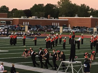 PERFORMING ARTS:  CHS Hilltopper Marching Band w/Topperettes & Majorettes