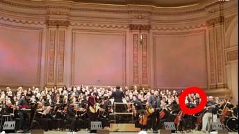 Mrs. Bilnoski Sang at Carnegie Hall Last Weekend