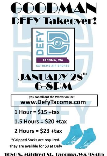 Goodman Takeover of Defy Tacoma