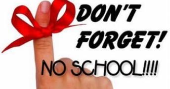 NO SCHOOL ON FRIDAY, NOVEMBER 2ND