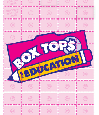 Box Top Collection Sheet
