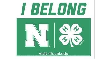 I BELONG - Nebraska 4-H