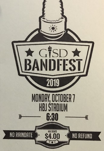 Band Fest Ticket Sales