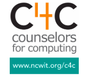 Counselors for Computing