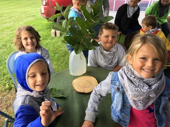 First Graders @ Clarkston Family Farm