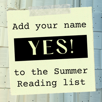 Go HERE to say YES to Summer Reading!