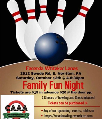 CAAA 'Family Fun Night'