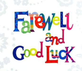 Staff Farewells