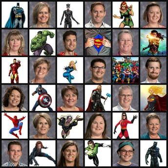 Good Morning Team DCMS Superheroes!
