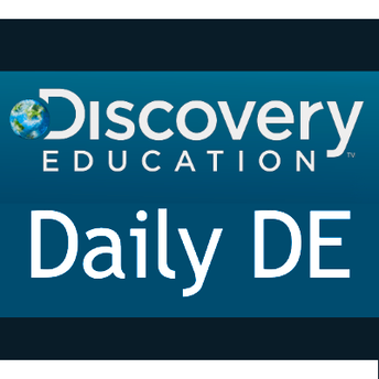 Discovery Education Daily DE icon