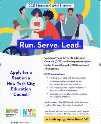 2021 Community Education Council (CEC) Elections