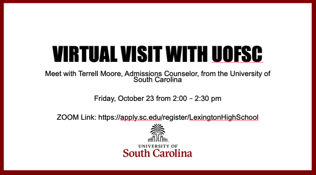 Virtual Visit with U of SC