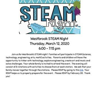 Westbrook Steam Night