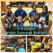 3rd Grade Bright Summer Readers
