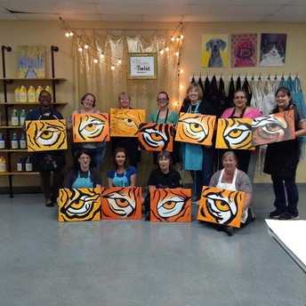 Tigers create masterpieces!
