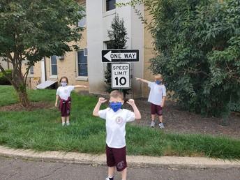Kindergarten Sign Walk