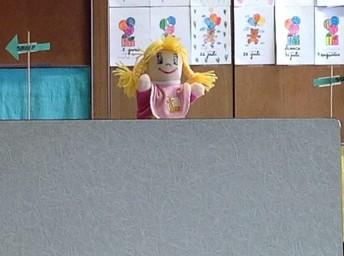 Ook poppenkast in de eerste klas!