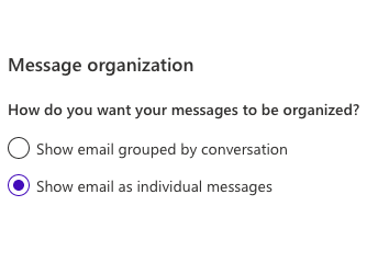 Keep Your Message Organized