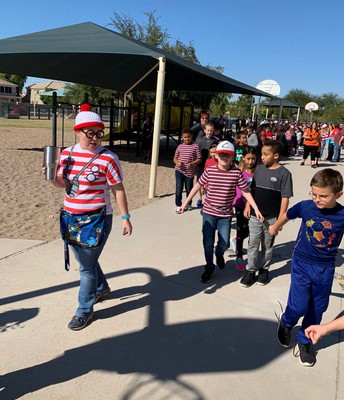 Fourth Grade as Where's Waldo.