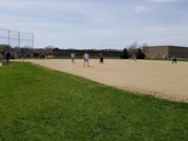 First kickball game of the Spring