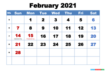 February Professional Learning  Calendar