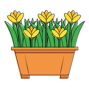 Adopt a Flower Pot Program- Spring Has Sprung!