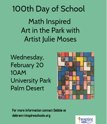 Art in The Park! Palm Desert